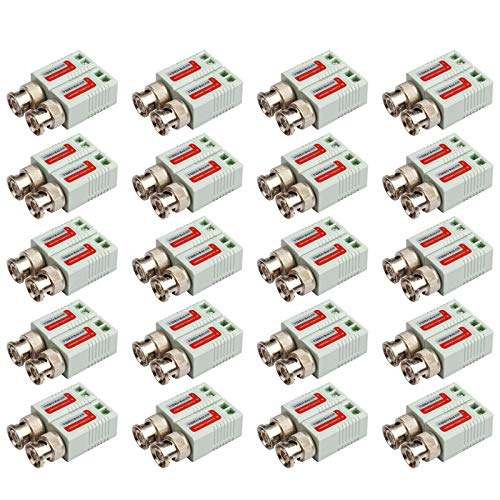 20 Pairs BNC Passive Video Balun Transceiver AHD/TVI/CVI, used for sale  Delivered anywhere in USA
