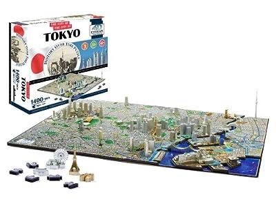 4d Cityscape Tokyo Time Puzzle by 4D Cityscape