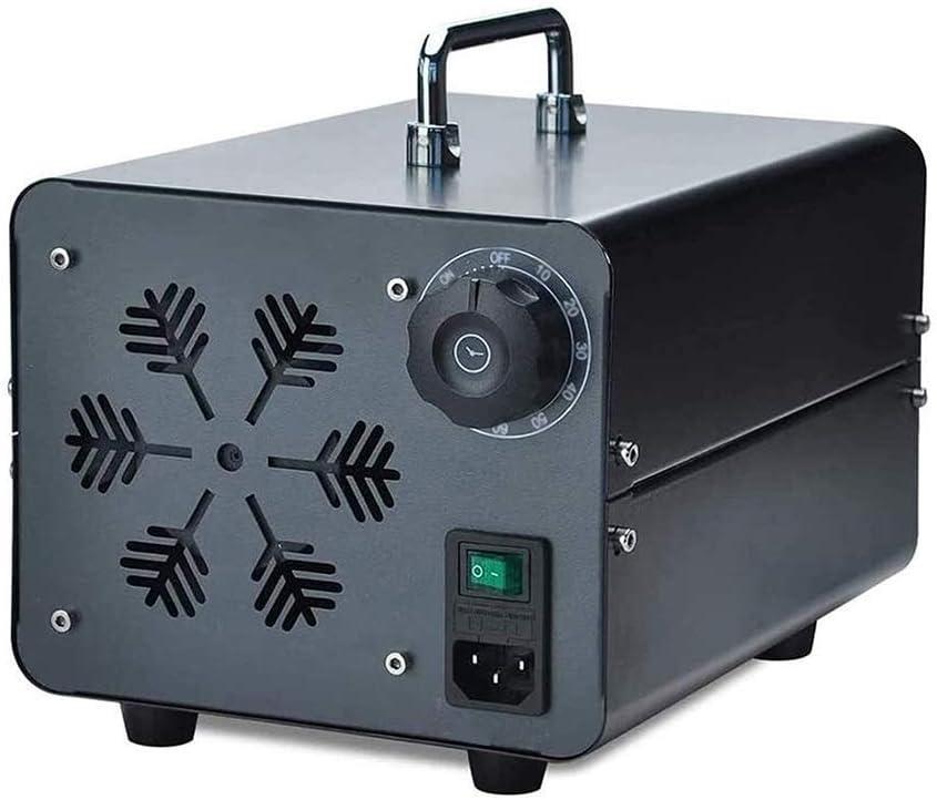 LCSD Purificador de Aire 5G / H Portátil Generador De Ozono Purificador De Ozono Máquina Desodorante del Esterilizador De La Máquina For El Hogar, Oficina, Barco Y Coche 5000mg / H