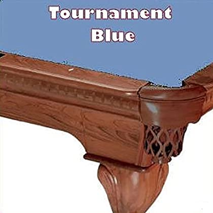 Image of 7' Tournament Blue ProLine Classic 303 Teflon Billiard Pool Table Cloth Felt Billiard Cloth