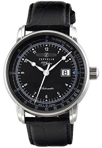 ZEPPELIN watch 100 anniversary model black dial 7664-2S Men's parallel import goods]