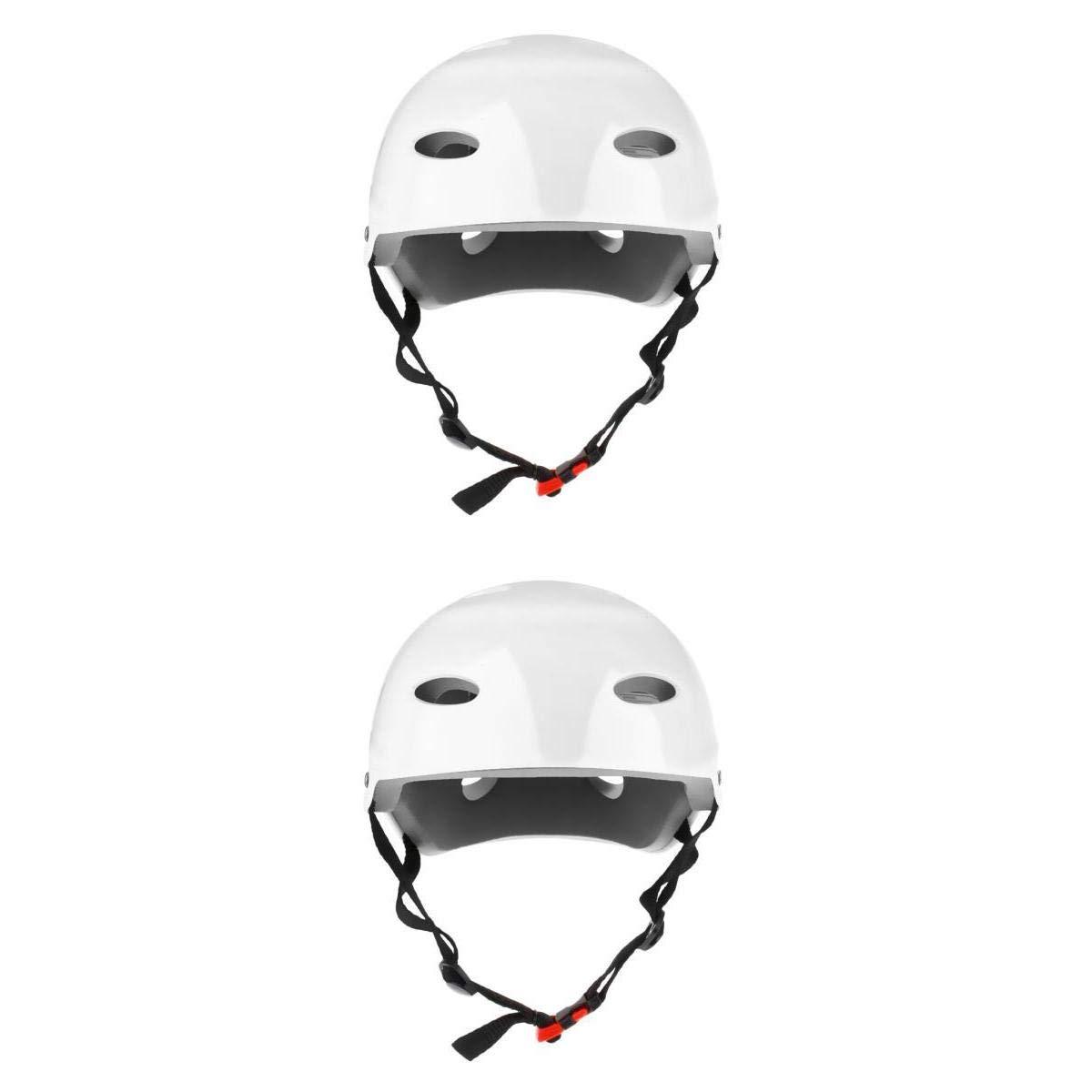 White Water Sports Hard Safety Helmet for Wakeboard Kayak Canoe Boat Jet Ski