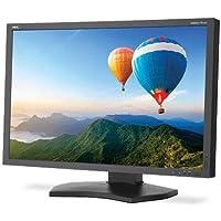 NEC 30 Widescreen LED Backlit LCD Color Accurate Desktop Monitor, 16:10 Aspect Ratio, 340cd/m2 Brightness, 1000:1 Contrast Ratio, 2560x1600, Black