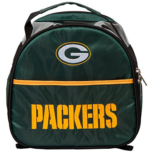 KR Strikeforce Green Bay Packers Single Add On Bowling Bag, Multicolor