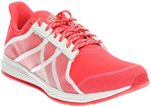 adidas Women's Gymbreaker Bounce Shock Red/White/Ray Red Athletic Shoe