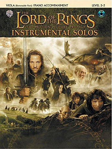 The Lord of the Rings Instrumental Solos for Strings: Viola (with Piano Acc.), Book & CD ()