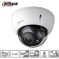 Dahua Dome Camera HDBW4431R-S 4MP Vandalproof Mini Network IP Camera H.265 IP67 IK10 PoE ONVIF Night Version International Version with 2.8mm Fixed Lens