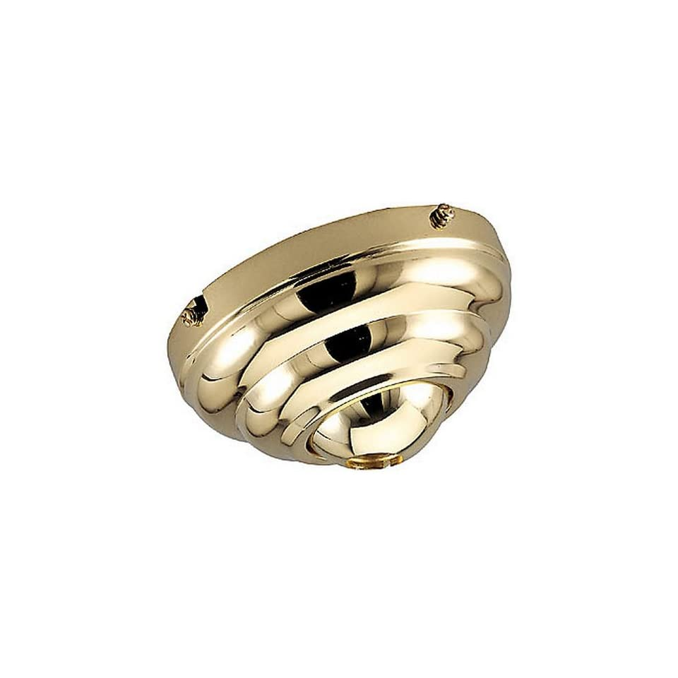 Sea Gull Lighting 1630 962 Slope Ceiling Fan Adapter, Brushed Nickel