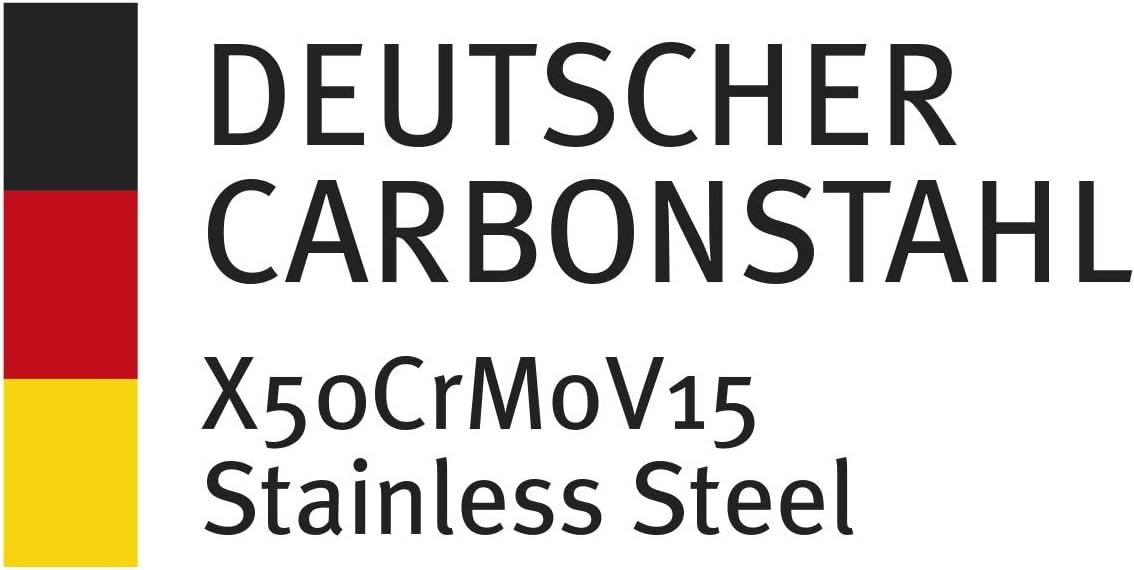 Juego de 4 cuchillos de carne SteakChamp Premium 4 Musketeer acero al carbono, 20 cm