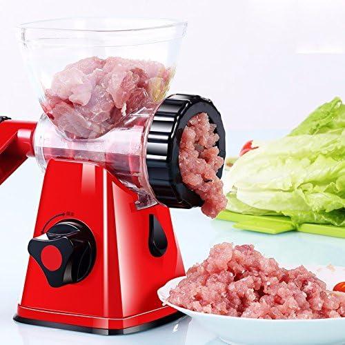 Manual Meat Grinder Household batidora de mano Small Dish Meat Dumplings for Cutter: Amazon.es: Hogar