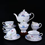 ACHKL European coffee cup set ceramic coffee cup tea set coffee gift box ACHKL