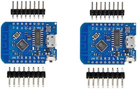 HiLetgo 2pcs Wemos D1 Mini Development Board ESP8285 V1 0 0