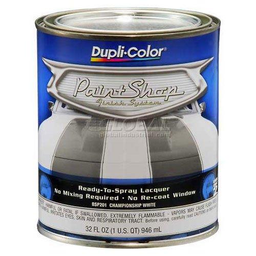 dupli-color-paint-shop-finish-system-base-coat-championship-white-32-oz-quart-lot-of-2