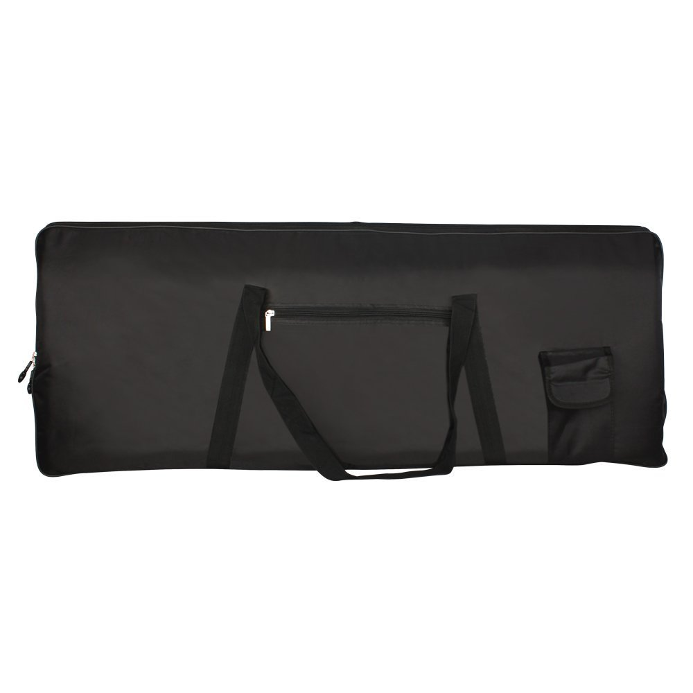 SODIAL(R)Portable 76-Key Keyboard Electric Piano Padded Case Gig Bag Oxford Cloth 055668