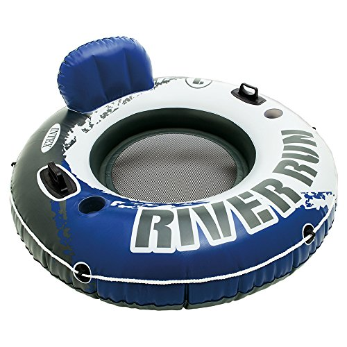 Intex River Run I Sport Lounge, Inflatable Water Float, 53 Diameter