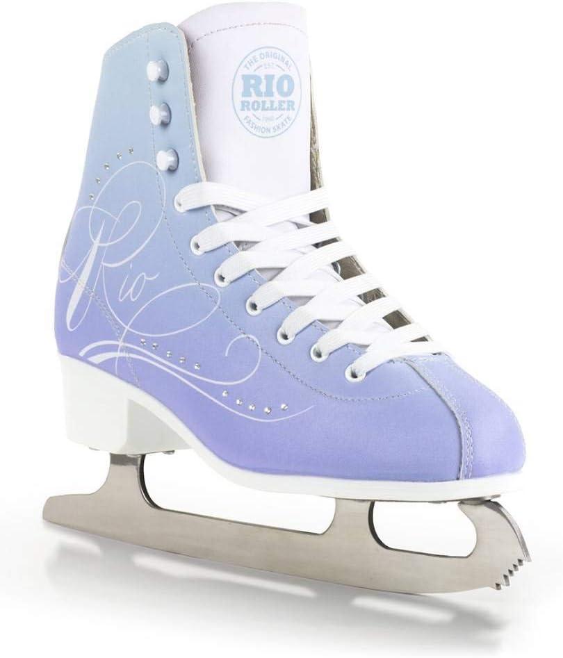 イギリスブランド Rio Roller Moonlight Ice Skate UK2/EU34/22.0cm フィギュアスケート