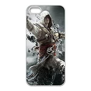 Assassins Creed Black Flag iPhone 4 4s Cell Phone Case White GY067034