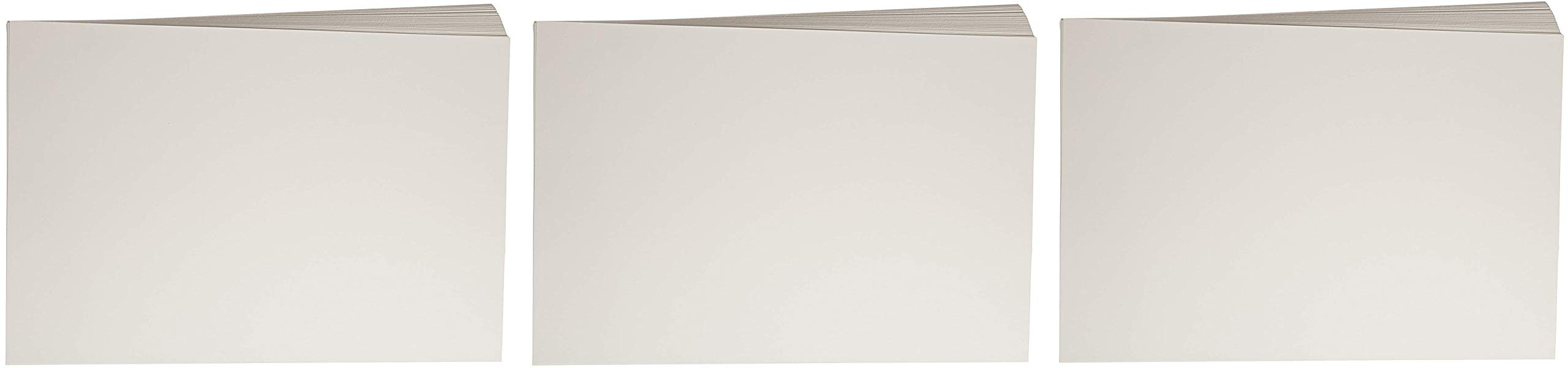 Sax Watercolor Beginner Paper, 90 lbs, 12 x 18 Inches, Natural White, Pack of 100 (3 X Pack of 100)