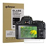 Macolink Screen Protector for Canon Eos 200D(KISS X9)/Eos Rebel SL2 Anti-Scratches 9H Tempered Glass Camera Protective Film (2 Pack)