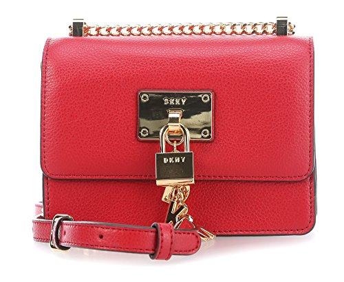bandoulière rouge Sac Elissa DKNY à qtB0y