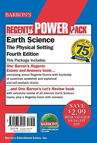 Earth Science Power Pack (Regents Power Packs)