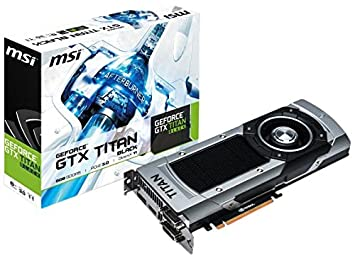 MSI V801-1266R NVIDIA GeForce GTX TITAN 6GB - Tarjeta ...