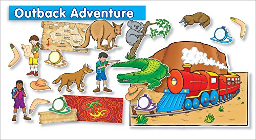 Scholastic Teacher's Friend Outback Adventure Bulletin Board - Canteen Australia