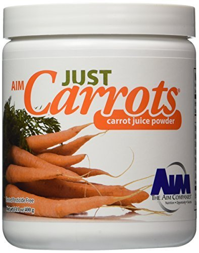 AIM Just Carrots for great carrot juice net wt,14.1oz/400g by AIM ()