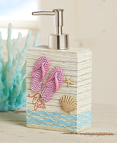 The Lakeside Collection Flip Flop Soap/Lotion Pump