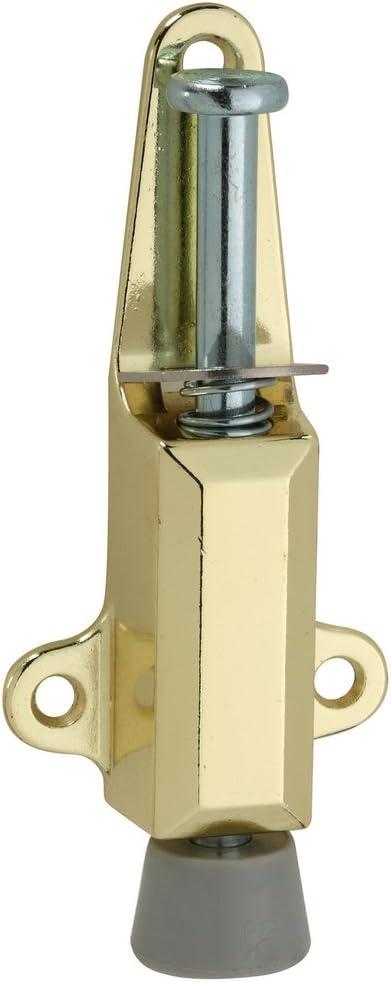 National Hardware N183-632 V811 Door Stop//Lock in Brass