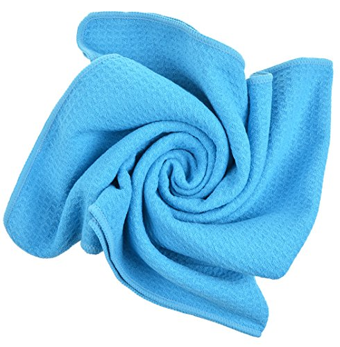 Sinland Microfiber Towels Lightweight Antibacterial Hair Drying Towels Travel Towel Bath Towel 20Inchx40Inch