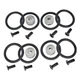 4pcs Hobbypark RC Airplane Prop Saver 3.17mm with Screws Rubber O Rings Kit for Electric Engine Brushless Motor Shaft E Plane Replacement Parts