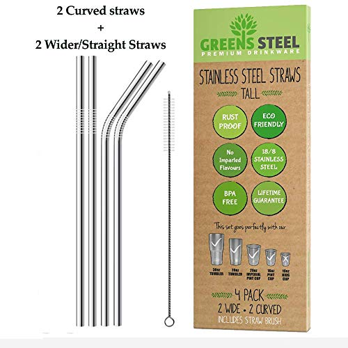 Stainless Steel Straws (Tall)