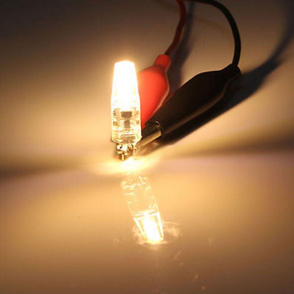 High Quality Dimmable G4 LED 12V AC//DC COB Light 3W 6W LED G4 COB Lamp Bulb