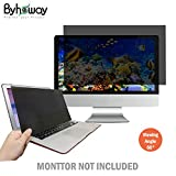 Byhoway 14 inch Laptop Privacy Screen Protector Computer Widescreen Monitor Privacy Filter w/Anti-Glare/Scratch/Fingerprint/Radiation, Black(16:9)