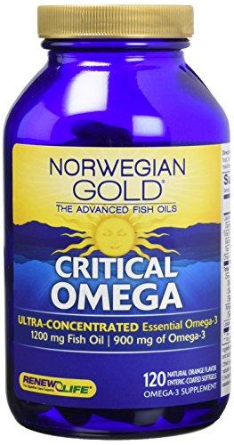 Compare price to critical omega 3 for Fish oil brain