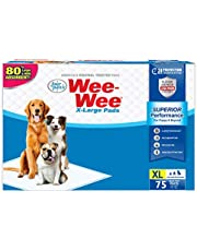 Four Paws Wee-Wee Pee Pads for Dogs and Puppies l Febreze l Grass Scented l Insta-Rise Boarder l Odor Control Absorbent Pee Training Pads for Puppies