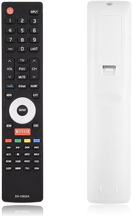 Tihebeyan Control Remoto Universal Hisense Smart TV EN-33922A Repuesto: Amazon.es: Electrónica