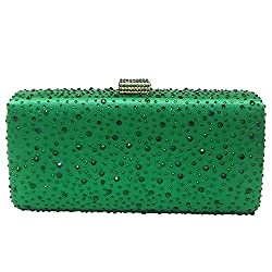 Elegant Crystal Clutch Foe Women