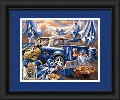 Kentucky Wildcats Tailgate Print 15''x18''