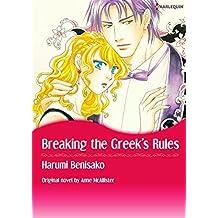 BREAKING THE GREEK'S RULES (Harlequin comics)