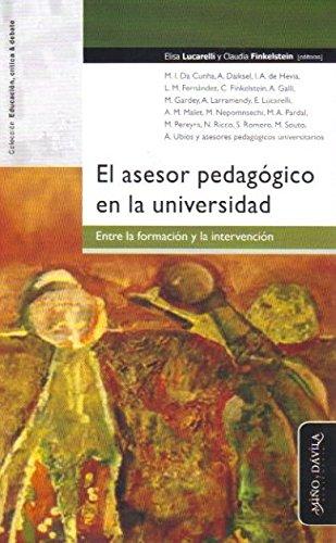 El asesor pedagógico en la Universidad.Entre formación e intervención(R)(12)