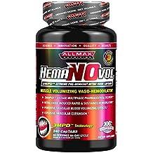 ALLMAX Nutrition HemaNOvol, Muscle Volumizing Vaso-Hemodilator, 240 captabs