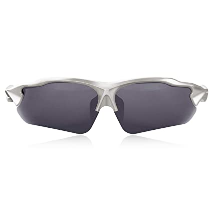 7491d669845 Amazon.com   Hulislem Blade Ⅱ Sport Polarized Sunglasses (Gun-Smoke ...