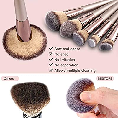 BESTOPE Makeup Brushes Set For Girl