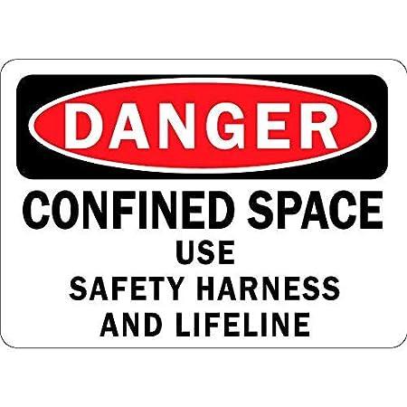 JeremyHar75 Señal de Advertencia de Peligro para Uso en el Espacio ...
