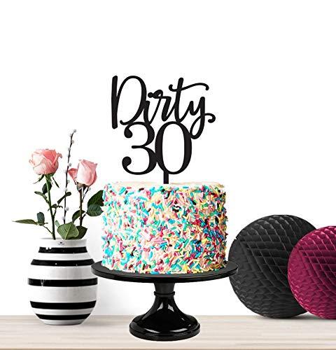 Decoración para tarta de cumpleaños, cumpleaños sucio ...