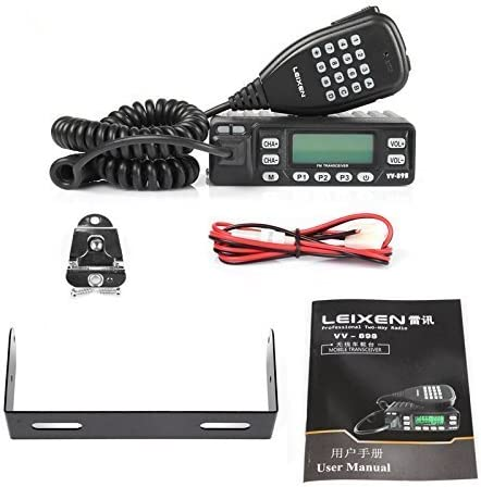 Leixen Vv 898 Dualband Vhf Uhf 2m 70cm Kabel 10w Mobil Fahrzeugfunkgerät Auto
