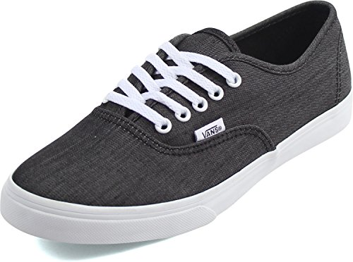 Shadow Black Authentic true Stripe White Vans PR5wq00