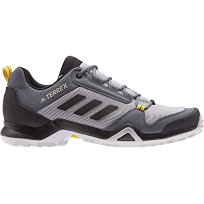 adidas outdoor Terrex AX3 Hiking Shoe - Men's Light Granite/Black/Active Gold, 9.5 | Hiking Shoes